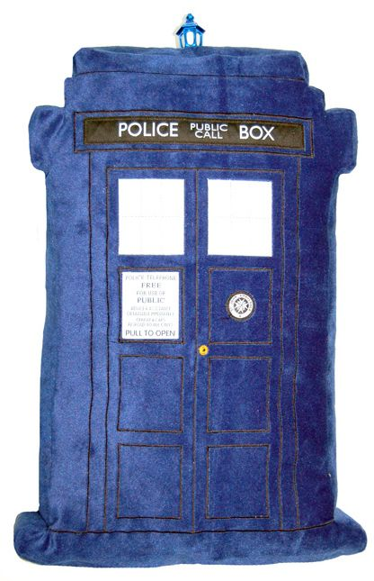 Doctor Who: TARDIS Light-and-Sound-Effects Pillow