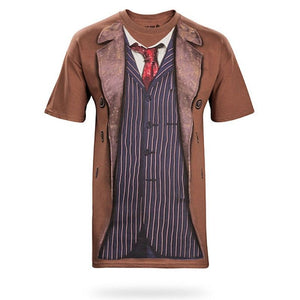 Doctor Who: Tenth Doctor Costume Shirt