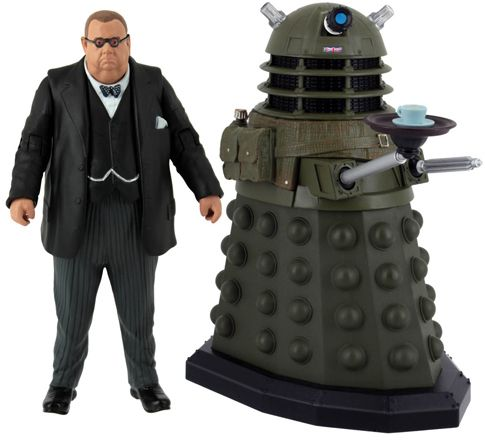 Doctor Who: Victory of the Daleks Action Figure Set