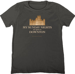Downton Abbey: My Sunday Nights T-shirt