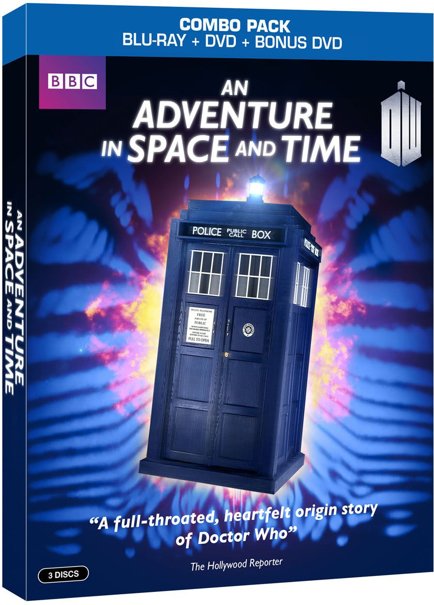 Adventure in Space and Time (DVD + Blu-ray) Combo