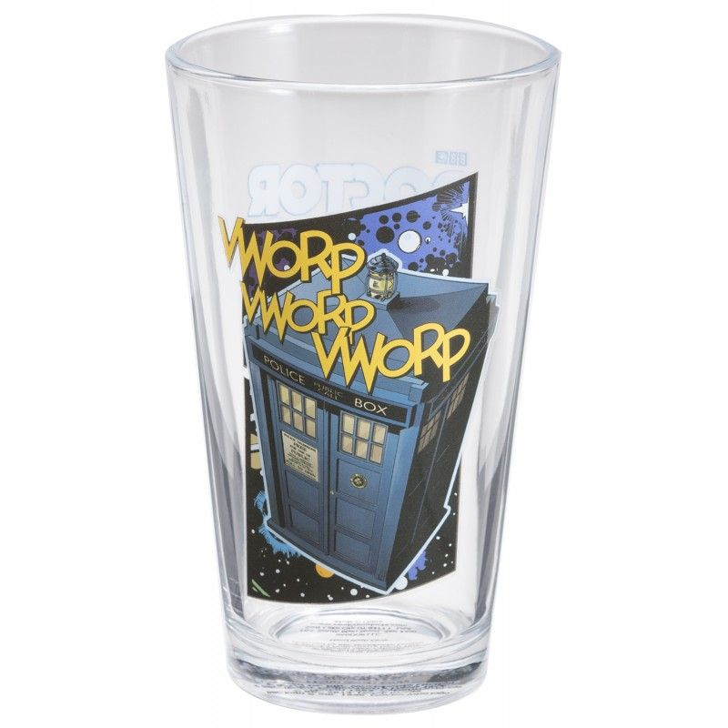 Doctor Who: Pint Glass Set (set of 4)