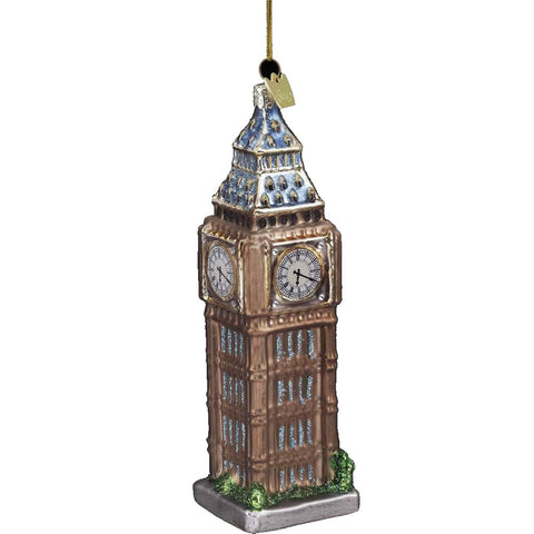 Big Ben Clock Tower Ornament