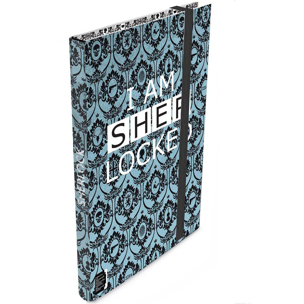 Sherlock: Teal I AM SHER-Locked Journal