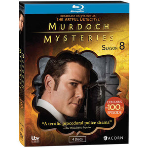 Murdoch Mysteries: Season 8 (Blu-ray)