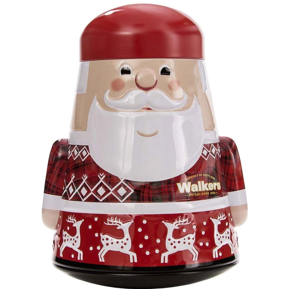 Walker's Shortbread Santa Claus Tin