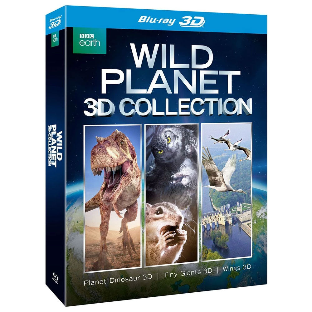 Wild Planet 3D Collection (Blu-Ray)