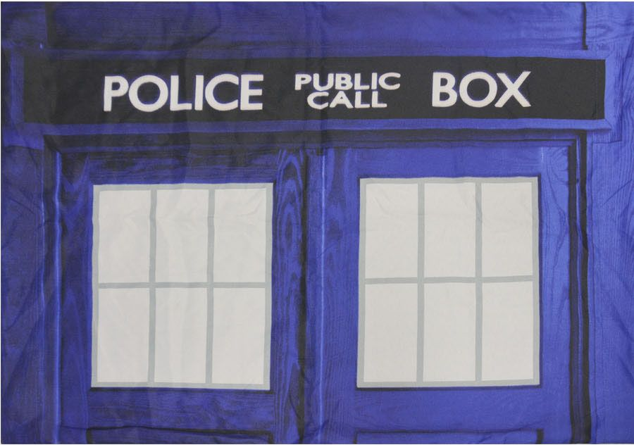 Doctor Who: TARDIS Pillow Case Set of Two