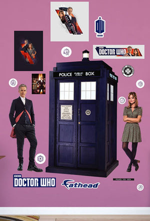 Doctor Who: Fathead Twelfth Doctor Collection Wall Decal