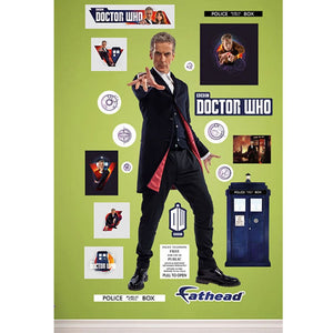Doctor Who: Fathead Twelfth Doctor Wall Decal
