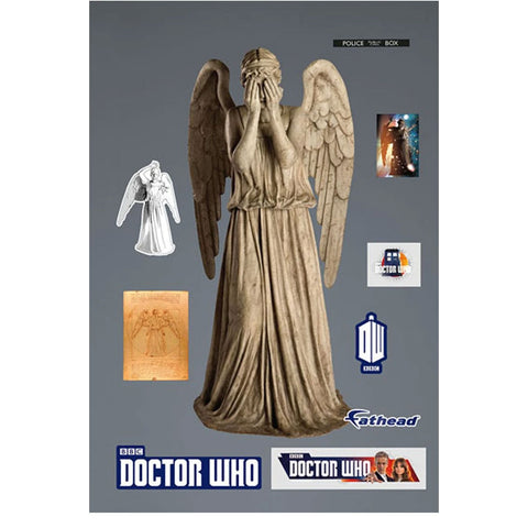 Doctor Who: Fathead Weeping Angel Wall Decal