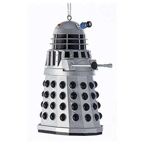 "Doctor Who: 3.5 inch"" Silver Warrior Dalek Ornament"