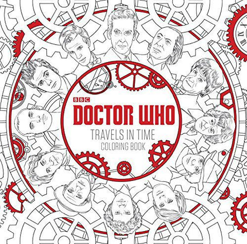 Doctor Who: Travels in Time Coloring Book