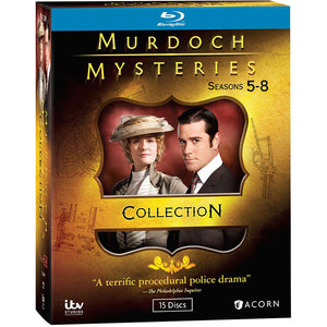 Murdoch Mysteries: Seasons 5-8 Collection (Blu-ray)