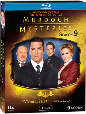 Murdoch Mysteries: Season 9 (Blu-ray)