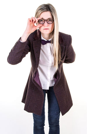Doctor Who: Ladies Eleventh Doctor Purple Coat