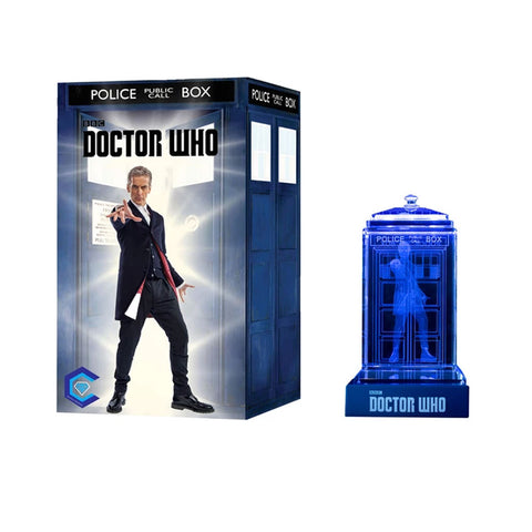 Doctor Who: Twelfth Doctor Crystal TARDIS