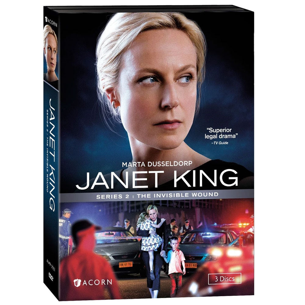 Janet King: Series 2: The Invisible Wound
