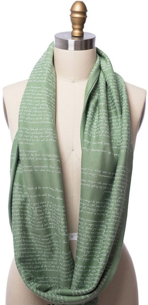 Anne of Green Gables Infinity Book Scarf
