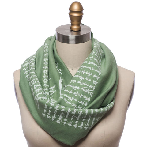 A Midsummer Night's Dream Infinity Book Scarf