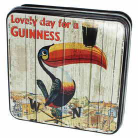 Guinness Luxury Fudge and Vintage-Style Tin: Toucan