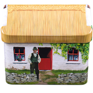 Irish Whiskey Fudge in Connemara Cottage Tin