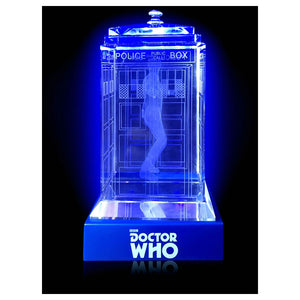 Doctor Who: Eleventh Doctor Crystal TARDIS