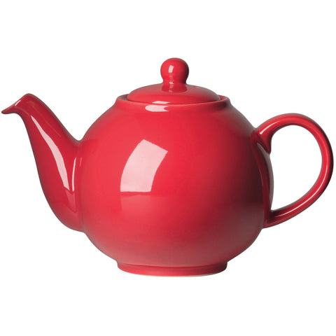 London Pottery Red Globe Teapot