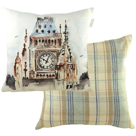 London Throw Pillow: Big Ben