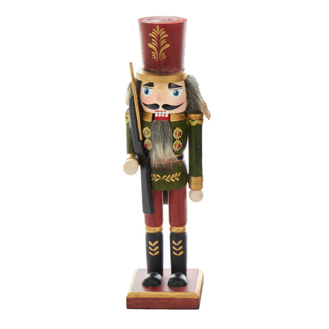 Green Wooden Grain Nutcracker