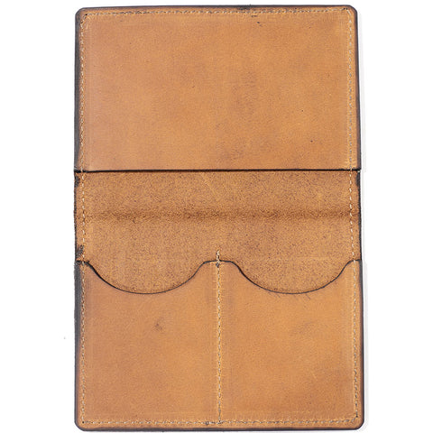 London Leather Passport Wallet