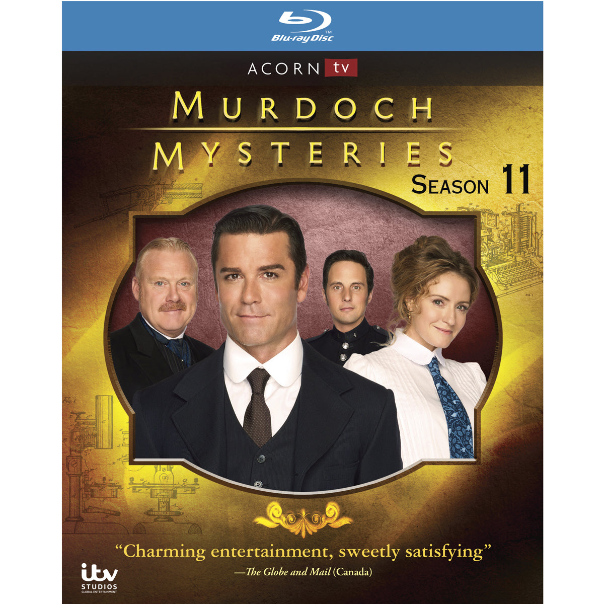Murdoch Mysteries: Season 11 (Blu-ray)
