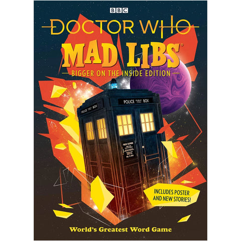 Doctor Who Mad Libs: Bigger on the Inside Edition