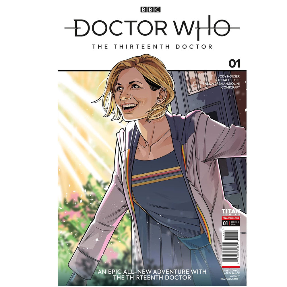 Doctor Who: The Thirteenth Doctor Comic #1