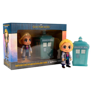 Doctor Who: 13th Doctor Kawaii & Materialising TARDIS Titan Figurines