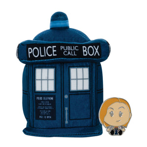 Doctor Who: TARDIS Superbitz with Thirteenth Doctor Enamel Pin