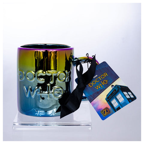 Doctor Who: Iridescent Logo Mug