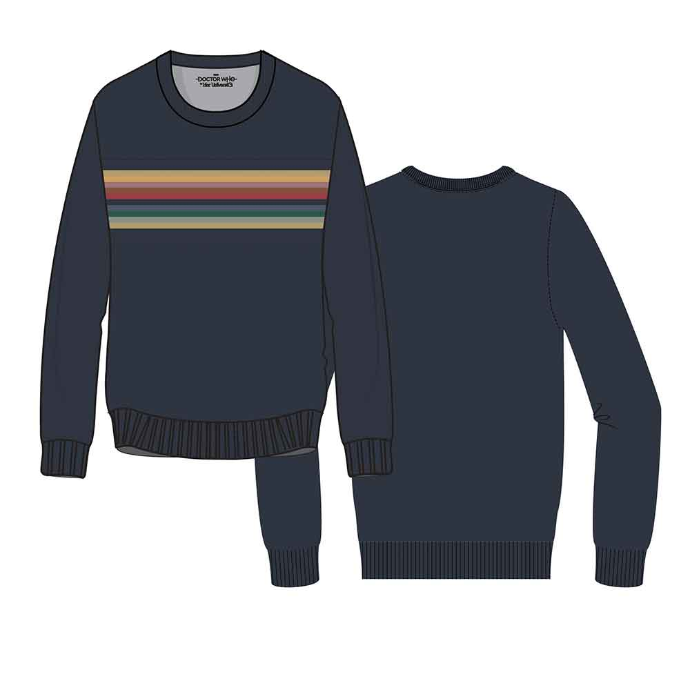Doctor Who: Rainbow Pullover Sweatshirt