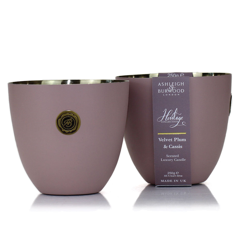 Heritage Collection Scented Candle: Blushing Plum