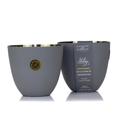 Heritage Collection Scented Candle: Soft Grey