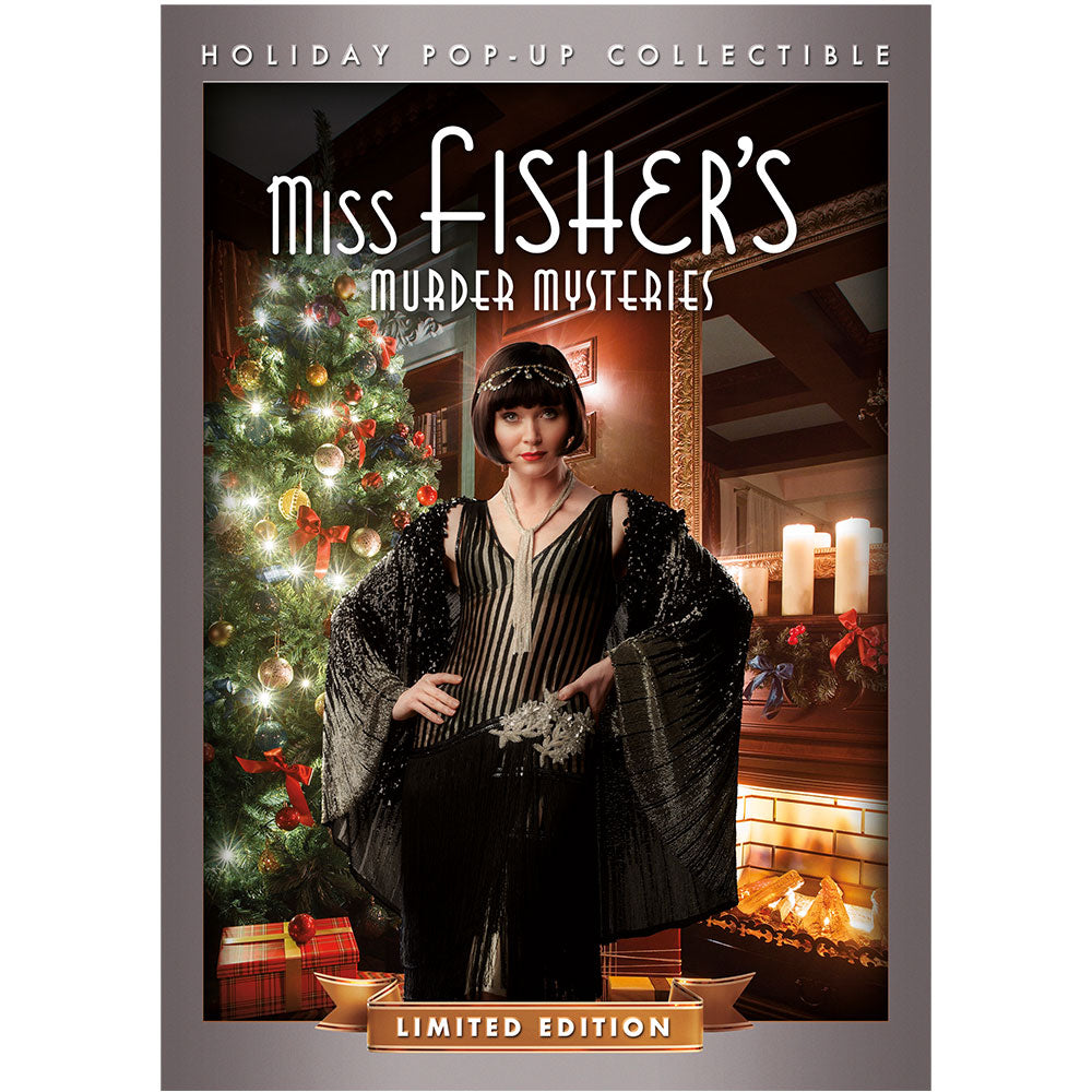 Miss Fisher's Murder Mysteries: Murder Under the Mistletoe Holiday Pop-Up
