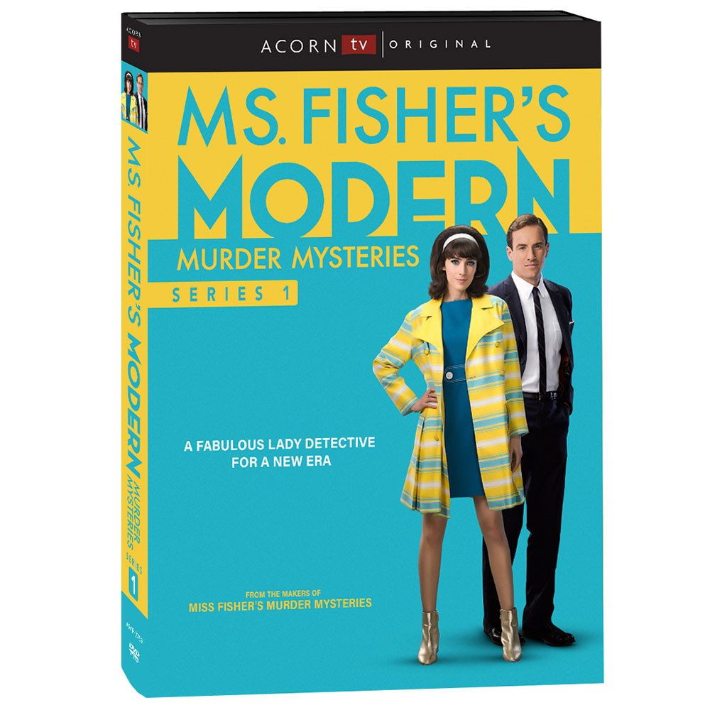 Ms. Fisher's Modern Murder Mysteries: Season 1 (Blu-ray)