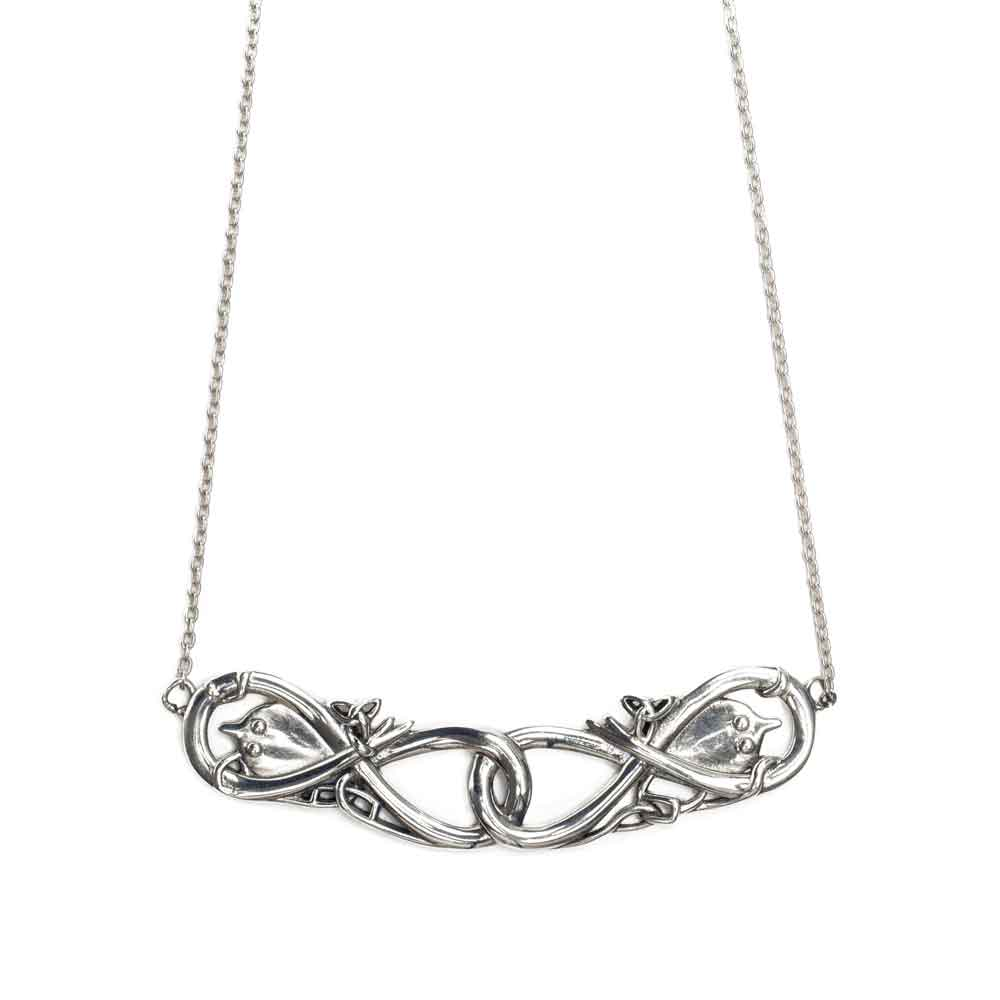 Celtic and Viking Silver Necklace