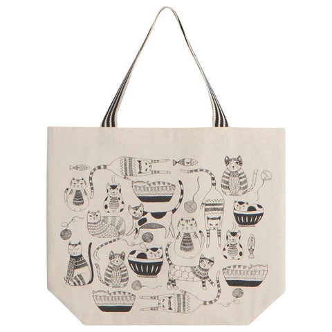 """Purr Party"" Tote Bag"