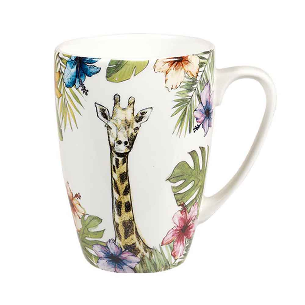 "Churchill ""Reignforest"" Mug: Giraffe"
