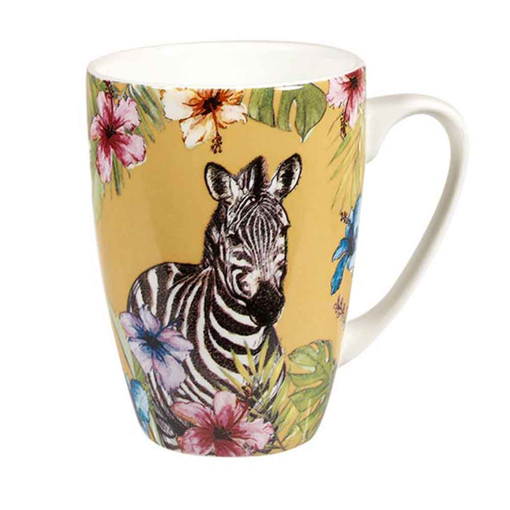 "Churchill ""Reignforest"" Mug: Zebra"