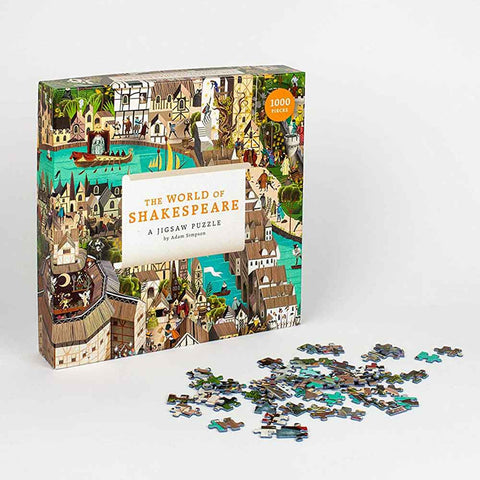 The World of Shakespeare : 1000 Piece Jigsaw Puzzle