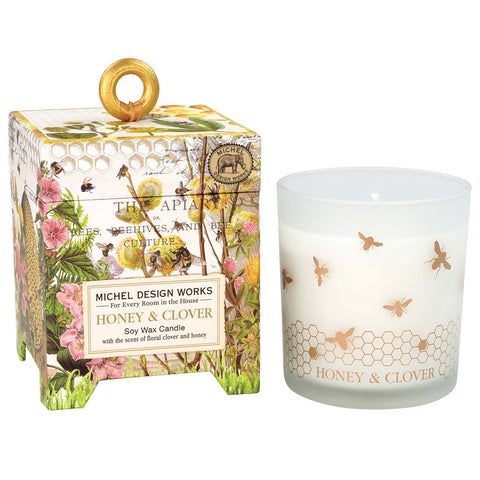 Honey & Clover Soy Wax Candle