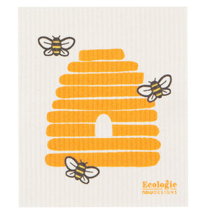 Bees Swedish Dish Cloth
