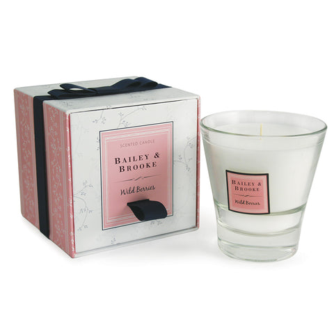 Wild Berries Filled Tumbler Glass Candle